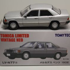 TOMICA LIMITED VINTAGE NEO MERCEDES BENZ 190E W201 1/64 LV-N77a