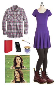Effy Skins 4X08 Freddie's party by effy-stone-m on Polyvore featuring polyvore fashion style J.Crew Dr. Martens Isaac Mizrahi clothing