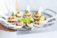 Mini Thai Prawn Salads Recipe