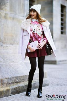 Virgit Canaz In Double Breasted Woolen Coat$129