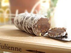 Chocolate saucisson!