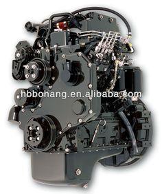 Diesel Engine 4 stroke 4 cylinder 3.9L Dongfeng Cummins Diesel Engine B  series 9cc5dab352fc