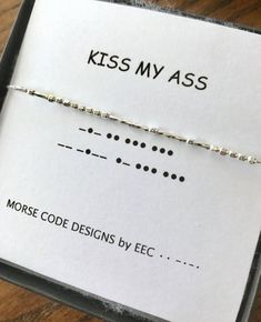 BYE FELICIA Morse Code Necklace Sterling Silver or Gold Filled Best Friends Jewelry Kindred Spirits Necklace - jewelry diy bracelets Morse Code Words, Morse Code Tattoo, Sister In Law Gifts, Sister In Law Quotes, Sister Birthday Quotes, Birthday Wishes, Morse Code Bracelet, Bye Felicia, Best Friend Jewelry