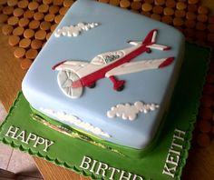 plane cake.......My husband and in-laws who fly would love to see Grant with this cake.
