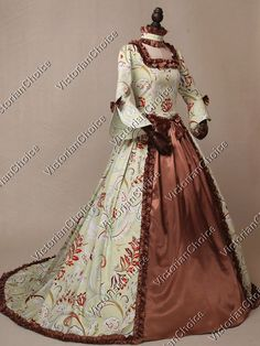 Renaissance Queen Elizabeth Game of Thrones Ball Gown Christmas Caroling Dress Theatrical Clothing