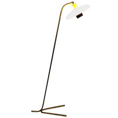 gino sarfatti floor lamp - italy - circa 1965