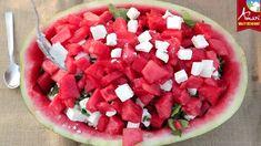 Σαλάτα καρπούζι! Το καλοκαίρι είναι εδώ! Watermelon, Fruit, Food, The Fruit, Meals, Yemek, Eten