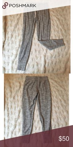 """Grey Cynthia Rowley joggers Grey Cynthia Rowley joggers, inseam 27"""" in great condition never been worn!!! Cynthia Rowley Pants Track Pants & Joggers"""