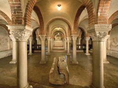 Cripta di San Pietro in Ciel d'Oro - Pavia, Italia
