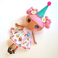 Lalaloopsy - Birthday Girl Cupcake Dress for Lala Loopsy Doll via Etsy