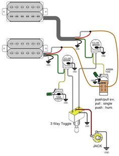 guitarelectronics com guitar wiring diagram humbuckers way guitarelectronics com guitar wiring diagram 2 humbuckers 3 way toggle switch 1 volume 0tone 000 schematics guitar