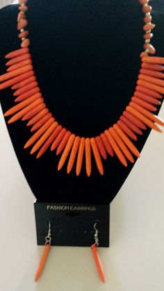 A striking necklace to add to your wardrobe. Part of our new collection of affordable, fun jewelry at Clothes Attic'd.