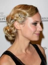 finger waves updo