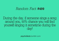 I do that and it's usually a song i don't like. Lucky me.
