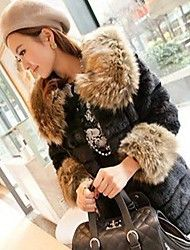 Women's Elegant Faux Fur 1/2 Length Sleeve Fitted Coat Save up to 80% Off at Light in the Box with Coupon and Promo Codes.