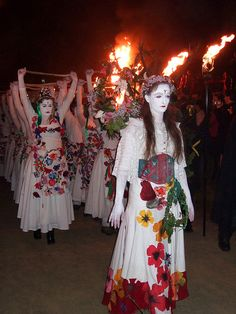 Beltane Fire Festival, Edinburgh. Religious/Cultural unit study.  And Bruce family history tie-in!