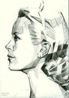 Sans titre - 08-05-14 (2014), graphite on paper (A5)  (for sale € 100,--)  see more @ corneakkers.com #arts #kunst #Corné #Corne #Akkers #藝術 #アート #искусство #فن  #seni