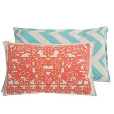 pillows....colors for bedroom? or living room?