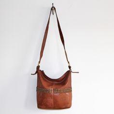 vintage coach bag by rekover: gemini bucket