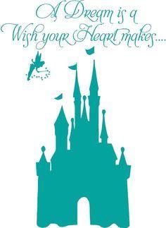 silhouette disney cinderella castle - Google Search