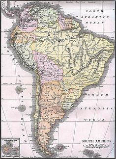 Map of brazil south american countries brazil information maps south america old map americas historical maps perry castaeda map collection ut gumiabroncs Image collections