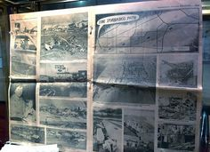 Torin Halsey/ Times Record News Newspaper sections show the devastation of the 1979 tornado at the Museum of North Texas History, which is d...