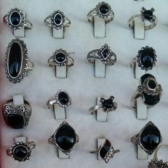 battybizarre.tumblr.com #gothic #rings Pinterest always gets me with the rings!