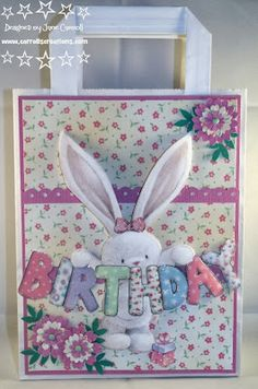 Carroll's Creations: Sneak Peeks - Be-bunni Pick of the Week
