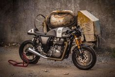 Royal Enfied Cotinental GT Cafe Racer by OK Easy Shop #motorcycles #caferacer #motos | caferacerpasion.com