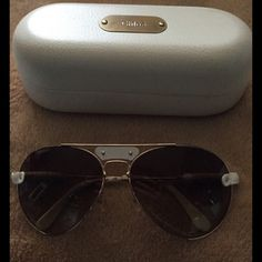 Chloe sunglasses Gently use Chloe  sunglasses absolutely gorgeous with tinted lenses Chloe + Isabel Accessories Glasses