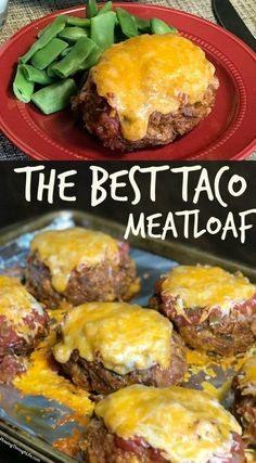 We love meatloaf and tacos, so when a friend gave us this recipe for the Best Taco Meatloaf we couldn't wait to try it. This easy meatloaf will be a regular meal on our menu because it's so good! Beef Recipes For Dinner, Ground Beef Recipes, Mexican Food Recipes, Ground Beef Dishes, Healthy Ground Beef, Crockpot Recipes, Cooking Recipes, Healthy Recipes, Easy Hamburger Meat Recipes