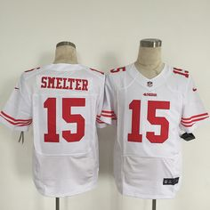 NFL Jersey's Men's San Francisco 49ers Nike Black Custom Alternate Elite Jersey