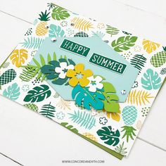 Tropical Vibes, Tropical Paradise, Concord And 9th, Happy Summer, Christmas Is Coming, Ink Color, Big And Beautiful, Hogwarts, Party Invitations