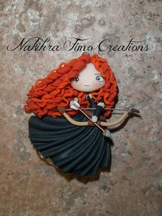 Merida con arco in fimo | Flickr - Photo Sharing!