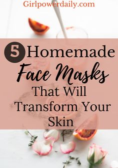 We're all tired of acne, zits, pimples, dry skin or oily skin. Well here is a list of 5 homemade facial masks that will drastically transform your skin. These natural facial masks are all prepared from ingredients sound in your home! They're so easy you can easily add them to your everyday skincare routine. Try one out and let us know!