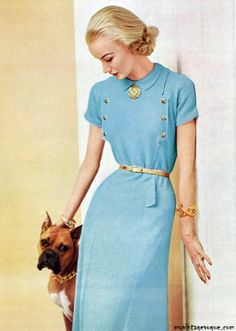 Is it a fashion faux pas that I would STILL wear this dress? Sunny Harnett '52