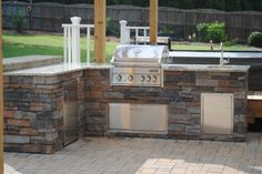 Outdoor Grills and Kitchens by Southern Touch Lawn & Landscaping Raleigh NC