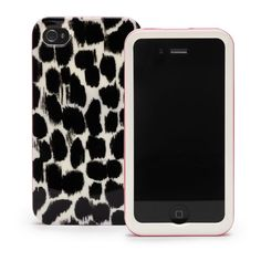 Kate Spade | designer iphone cases - leopard iphone 4g