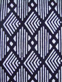 Items similar to SOLD OUT Cotton japanese yukata kimono fabric navy blue white stripe diamond panel on Etsy Japanese Textiles, Japanese Patterns, Japanese Fabric, Japanese Prints, Japanese Design, Japanese Yukata, Motifs Textiles, Textile Prints, Textile Patterns