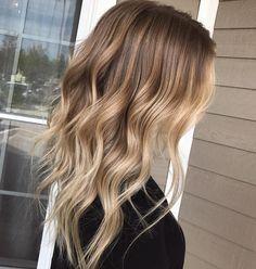 Light Brown To Blonde Balayage