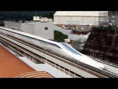 Japón prueba tren de alta velocidad que alcanza 500 km/h