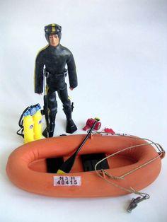 El único Madelman que tuve en mi vida...pero eso sí, con su barca y todo.