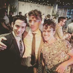 Robin Lord Taylor with husband and a friend. Gotham Cast, Gotham Tv, Sherlock, Robin Taylor, Movie Producers, Life Partners, Married Life, Lord & Taylor, Memes