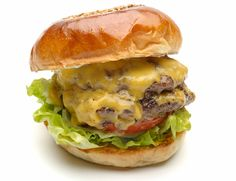 """w-cheese burger from """"Fire House"""", Hongo, Tokyo"""
