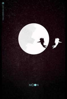 Movie Poster Design Cinema Moon