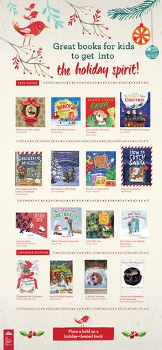 Start a new holiday tradition by reading one of these fantastic books to your child or grandchild!