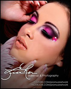 I love the feeling this image portrays. The make-up was created along with my talented make-up artist friend, Mai. The model, Melinda, has the perfect eyes for this look!!