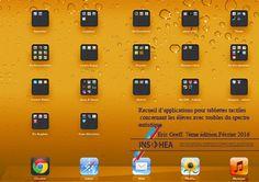 Recueil d'applications pour tablettes tactiles concernant les élèves avec troubles du spectre autistique   INS HEA