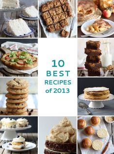 10 Best Recipes 2013 at completelydelicious.com
