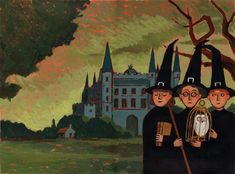 Harry Potter and the Philosopher's Stone French edition cover art by Jean-Claude Götting.